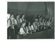 Youth Choir at Port Hawkesbury (Cape Breton), 1945