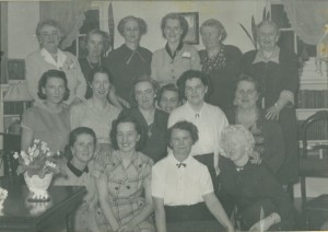 Douglastown women's group, 1952