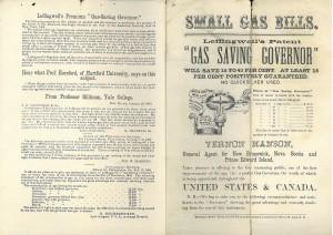 Gas Saving Governor, Centenary Methodist