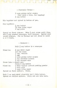 Fairview United Church UCW Uncooked Recipes p4
