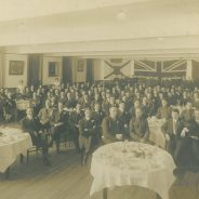 Banquet in Honor of Cycle Platoon, 1914