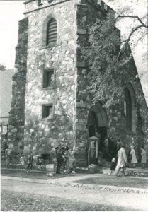 V-5-121 Exterior of Kentville church