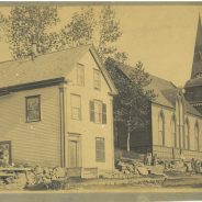 The construction of Pilgrim Congregational Church