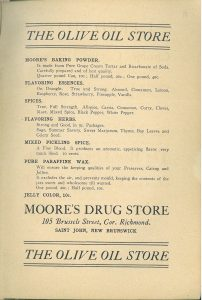 Tried and Proved Recipes-The Olive Oil Store, 1909