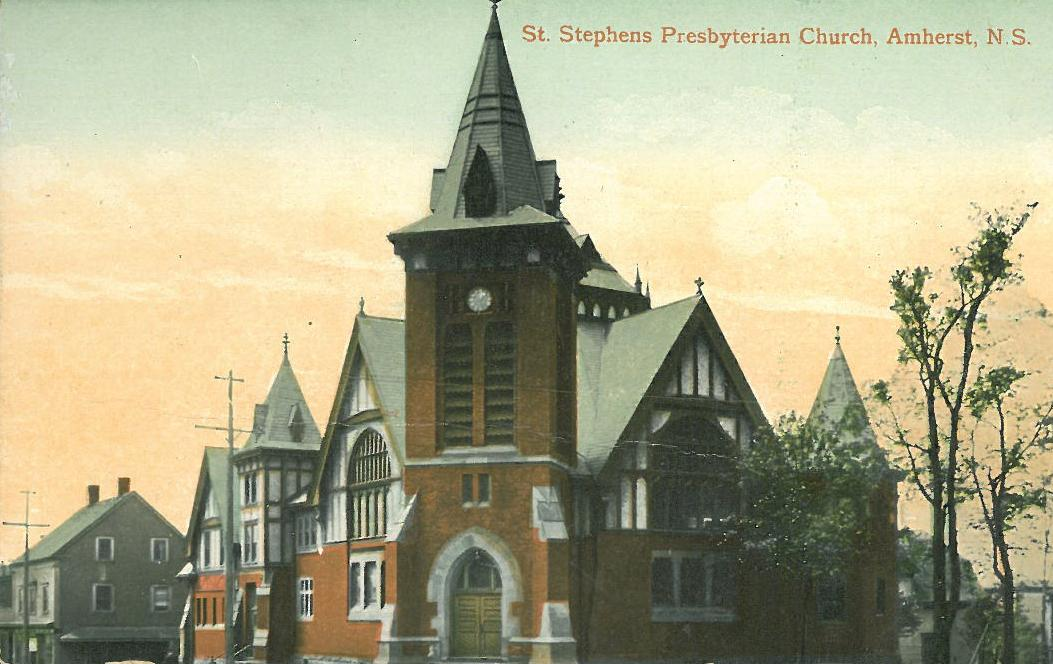 Amherst: Trinity-St. Stephen's Pastoral Charge records listing