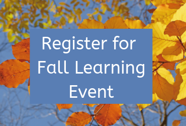 2020 Fall Learning Event – November 5, 12 & 19