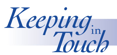 Keeping in Touch January 2020