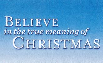 Christmas Message from the Executive Minister