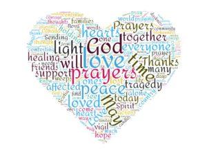 Prayer Vigil – Word Cloud